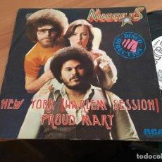 Discos de vinilo: NUGGETS (NEW YORK HARLEM SESSION) SINGLE ESPAÑA 1979 PROMO (EPI11). Lote 122165599