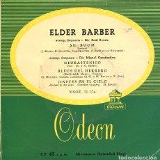 Discos de vinilo: ELDER BARBER / SH, BOOM + 3 (EP 1958). Lote 122166399