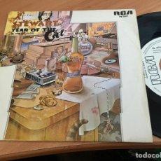 Discos de vinilo: AL STEWART (YEAR OF THE CAT) SINGLE ESPAÑA 1976 PROMO (EPI11). Lote 122166947