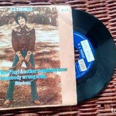 Discos de vinilo: SINGLE (VINILO) DE B.J. THOMAS AÑOS 70. Lote 122167579