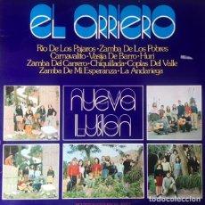 Discos de vinilo: NUEVA ILUSION - EL ARRIERO . LP . 1973 MOVIEPLAY. Lote 122168275