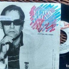 Discos de vinilo: SINGLE (VINILO) DE ELTON JOHN AÑOS 70. Lote 122168379