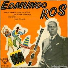 Discos de vinilo: EDMUNDO ROS – ROS EN BROADWAY - EP SPAIN 1959 - DECCA STO 105 . Lote 122169439