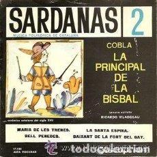 Discos de vinilo: COBLA LA PRINCIPAL DE LA BISBAL - SARDANAS 2 - DISCOPHON 17.135 - AÑO 1961. Lote 122181119