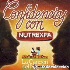 Discos de vinilo: CONFIDENCIAS CON NUTREXPA - COLA CAO - LA CANCIÓN DEL NEGRITO - SG AUDIOFON 1982. Lote 122182111