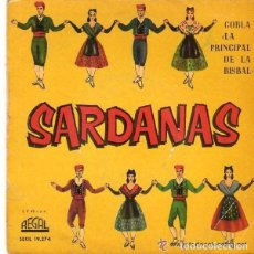 Discos de vinilo: COBLA LA PRINCIPAL DE LA BISBAL - SARDANAS - EP REGAL SPAIN 1961. Lote 122182879
