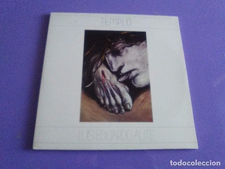 DOBLE LP .LUIS EDUARDO AUTE - TEMPLO - GATEFOLD - ARIOLA 5H 30321 1987 SPAIN ORIGINAL+LETRAS. (Música - Discos - LP Vinilo - Solistas Españoles de los 70 a la actualidad)