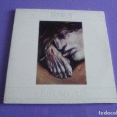 Discos de vinilo: DOBLE LP .LUIS EDUARDO AUTE - TEMPLO - GATEFOLD - ARIOLA 5H 30321 1987 SPAIN ORIGINAL+LETRAS.. Lote 122187507