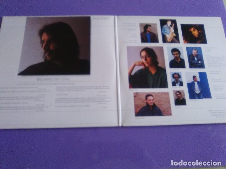 Discos de vinilo: DOBLE LP .LUIS EDUARDO AUTE - TEMPLO - GATEFOLD - ARIOLA 5H 30321 1987 SPAIN ORIGINAL+LETRAS. - Foto 3 - 122187507