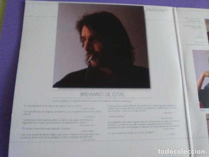 Discos de vinilo: DOBLE LP .LUIS EDUARDO AUTE - TEMPLO - GATEFOLD - ARIOLA 5H 30321 1987 SPAIN ORIGINAL+LETRAS. - Foto 4 - 122187507