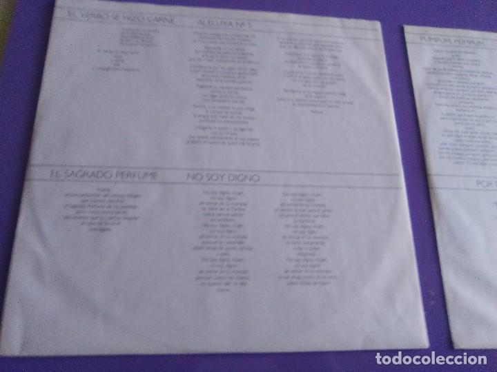Discos de vinilo: DOBLE LP .LUIS EDUARDO AUTE - TEMPLO - GATEFOLD - ARIOLA 5H 30321 1987 SPAIN ORIGINAL+LETRAS. - Foto 7 - 122187507