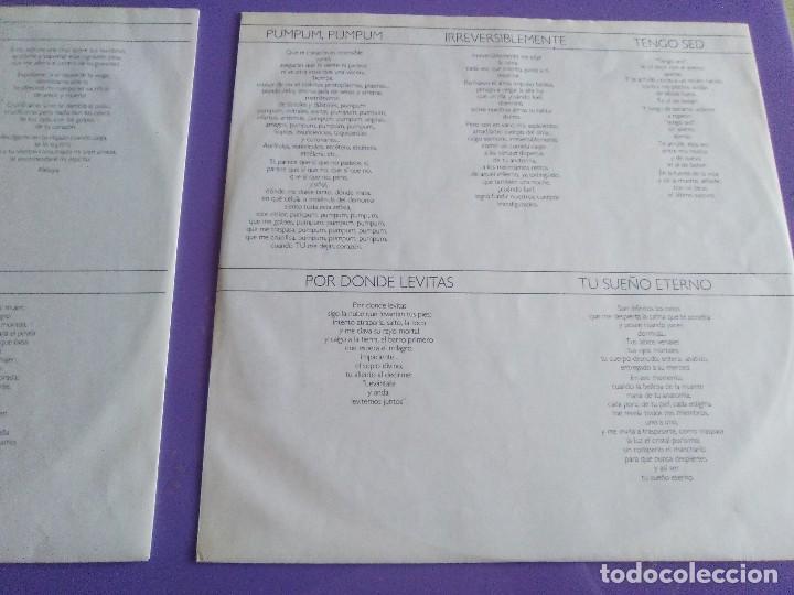 Discos de vinilo: DOBLE LP .LUIS EDUARDO AUTE - TEMPLO - GATEFOLD - ARIOLA 5H 30321 1987 SPAIN ORIGINAL+LETRAS. - Foto 8 - 122187507
