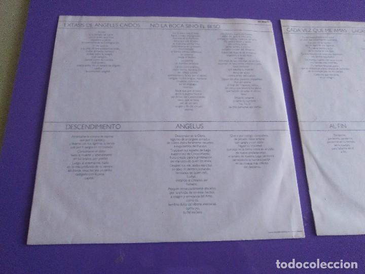 Discos de vinilo: DOBLE LP .LUIS EDUARDO AUTE - TEMPLO - GATEFOLD - ARIOLA 5H 30321 1987 SPAIN ORIGINAL+LETRAS. - Foto 10 - 122187507