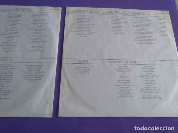 Discos de vinilo: DOBLE LP .LUIS EDUARDO AUTE - TEMPLO - GATEFOLD - ARIOLA 5H 30321 1987 SPAIN ORIGINAL+LETRAS. - Foto 11 - 122187507