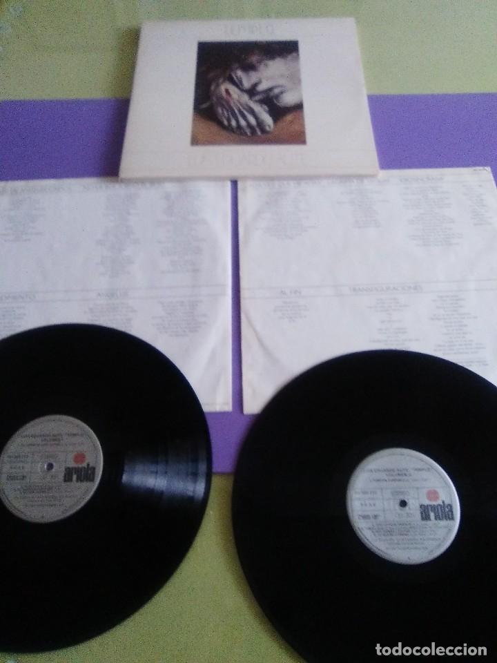 Discos de vinilo: DOBLE LP .LUIS EDUARDO AUTE - TEMPLO - GATEFOLD - ARIOLA 5H 30321 1987 SPAIN ORIGINAL+LETRAS. - Foto 13 - 122187507