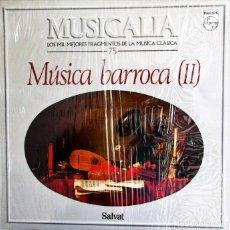 Discos de vinilo - DISCO VINILO MUSICA CLASICA MUSICA BARROCA II - 122187819