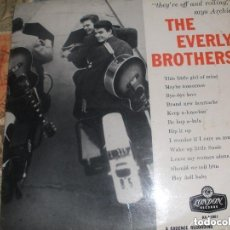 Discos de vinilo: THE EVERLY BROTHERS - THEY'RE OFF AND ROLLIN'(LONDON -1958) OG ENGLAND SOLO PORTADA. Lote 122193563