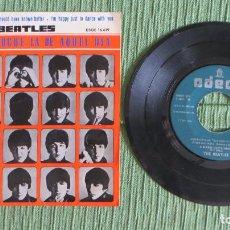 Discos de vinilo: THE BEATLES - QUE NOCHE LA DE AQUEL DIA (RARO LABEL VERDE) (EDICION ESPAÑOLA). Lote 122193747