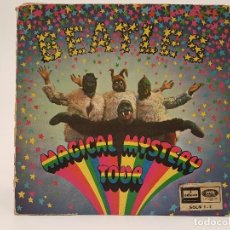 Discos de vinilo: THE BEATLES, DOBLE SINGLE, (MAGICAL MYSTERY TOUR), 1967, SOLM 1 - 2. Lote 122206279