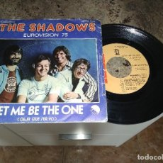 Discos de vinilo: THE SHADOWS / LET ME BE THE ONE / SINGLE 45 RPM / . Lote 122212671