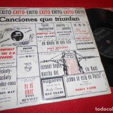 Discos de vinilo: CANCIONES QUE TRIUNFAN 10 PULGADAS 25 CTMS 195? ESPAÑA SPAIN THE HI-LO'S+BENNETT+CLOONEY+ELLIS+DAY. Lote 122216619