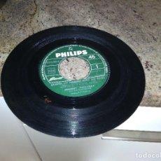 Discos de vinilo: JOHNNY HALLYDAY / JE VEUX TE GRAVER DANS MA VIE ( BEATLES ) JUKE BOX / SINGLE 45 RPM PHILIPS . Lote 122217283