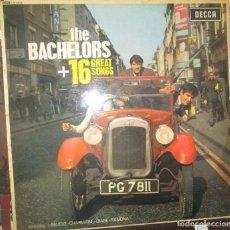 Discos de vinilo: THE BACHELORS - 16 GREAT SONGS - LP 1964 - EDICION INGLESA DECCA. Lote 122220043