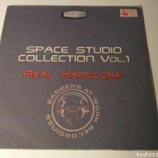 Discos de vinilo: SPACE STUDIO COLLECTION VOL. 1 - REAL HARDCORE!. Lote 122220047