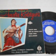 Discos de vinilo: AMALIA RODRIGUES-EP TRISTE SINA +3-1959. Lote 122220479
