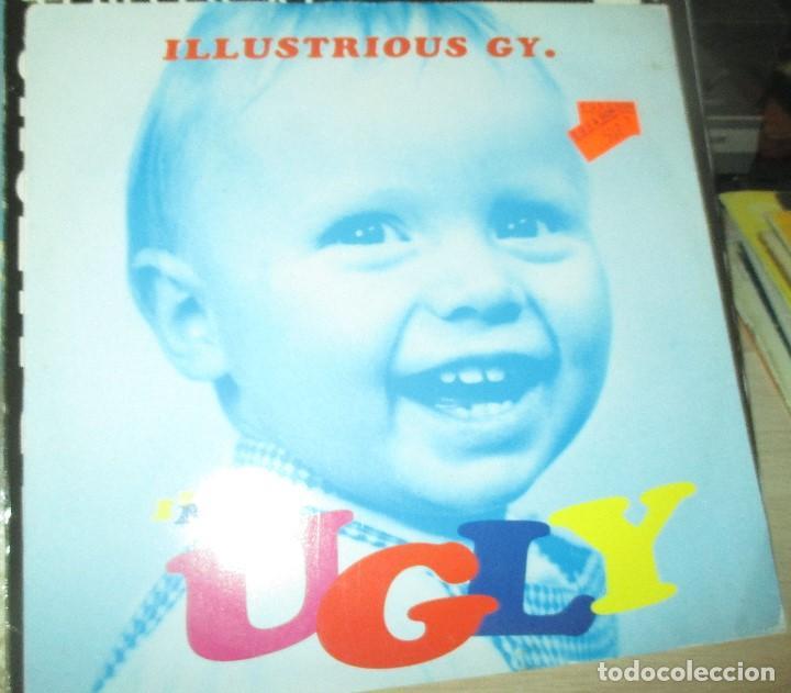 ILLUSTRIOUS GY - UGLY - MAXI 1993 -MADCHESTER - ANORAK - CHAV - (Música - Discos de Vinilo - Maxi Singles - Pop - Rock Extranjero de los 90 a la actualidad)