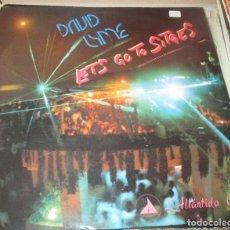 Discos de vinilo: DAVID LYME - LETS GO TO SITGES - MAX MUSIC 1985 - MAXI - ITALO SONIDO SABADELL. Lote 122223555