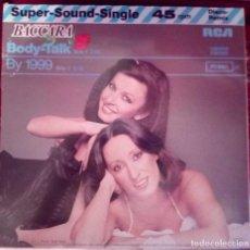 Discos de vinilo: BACCARA - BODY TALK / BY 1999 - MAXI EDIC LIMITADA . Lote 122224395