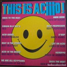 Discos de vinilo: THIS IS ACIIID! - VARIOUS. Lote 122225787
