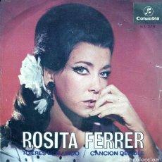 Dischi in vinile: ROSITA FERRER / TU ERES MI MARIDO / CANCION DEL OLE (SINGLE 1967). Lote 122250087