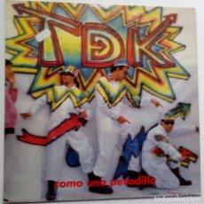 Discos de vinilo: T DE K- COMO UNA PESADILLA- LP 1988+ INSERT- VINILO EXCELENTE ESTADO.. Lote 122254447