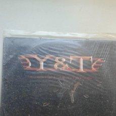 Discos de vinilo: Y & T CONTAGIOUS. Lote 122255187