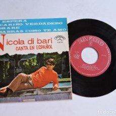 Discos de vinilo: NICOLA DI BARI - ME ESPERA 7'' EP 1966. Lote 122255715