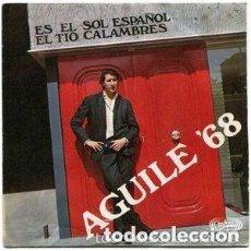 Discos de vinilo: LUIS AGUILE – AGUILE '68 - SINGLE SPAIN 1968. Lote 122255871