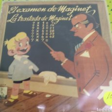 Discos de vinilo: EL EXAMEN DE MAGINET JOSE MARIA TARRASA. Lote 122257728
