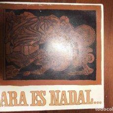 Discos de vinilo: MERCÈ GIL — ARA ÉS NADAL... (DIABOLO, 1974) EP. Lote 122263467