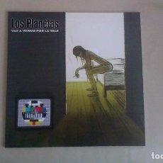 Discos de vinilo: 10 PULGADAS LOS PLANETAS VAS A VERME POR LA TELE INDIE POP ESPAÑA. Lote 122264267