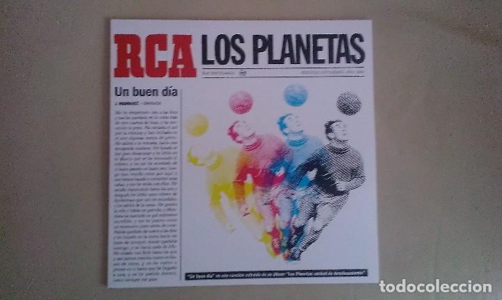 10 PULGADAS LOS PLANETAS UN BUEN DIA INDIE POP ESPAÑA (Música - Discos de Vinilo - EPs - Grupos Españoles de los 90 a la actualidad)