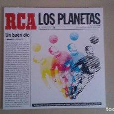 Discos de vinilo: 10 PULGADAS LOS PLANETAS UN BUEN DIA INDIE POP ESPAÑA. Lote 122264475