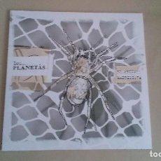 Discos de vinilo: 10 PULGADAS LOS PLANETAS EL ARTISTA MADRIDISTA INDIE POP ESPAÑA. Lote 122265303