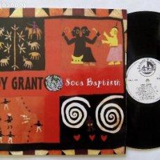 Discos de vinilo: EDDY GRANT. SOCA BAPTISM. LP BLANCO Y NEGRO MXLP-446. ESPAÑA 1994. REGGAE.. Lote 122265567