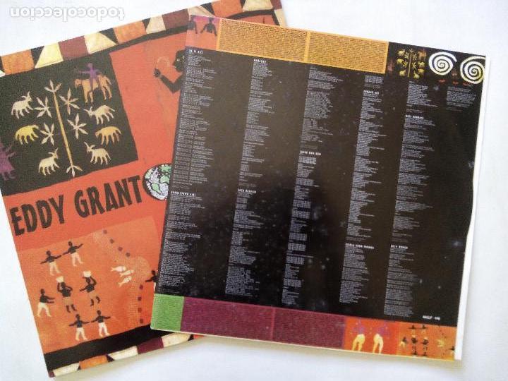 Discos de vinilo: EDDY GRANT. SOCA BAPTISM. LP BLANCO Y NEGRO MXLP-446. ESPAÑA 1994. REGGAE. - Foto 3 - 122265567