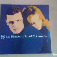 Discos de vinilo: 10 PULGADAS LOS PLANETAS DAVID & CLAUDIA INDIE POP ESPAÑA. Lote 122269967