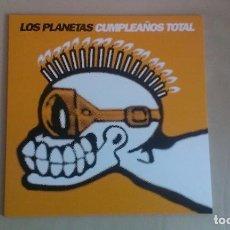 Discos de vinilo: 10 PULGADAS LOS PLANETAS CUMPLEAÑOS TOTAL INDIE POP ESPAÑA. Lote 122270727