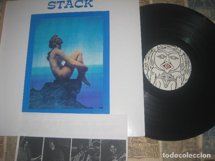 STACK - ABOVE ALL LIMITE EDICION VOID RECORDS TROQUELADA +ENCARTE 1997 CALIFORNA EXCLENTE CONDICION (Música - Discos - LP Vinilo - Pop - Rock Extranjero de los 50 y 60)