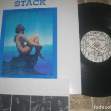 Discos de vinilo: STACK - ABOVE ALL LIMITE EDICION VOID RECORDS TROQUELADA +ENCARTE 1997 CALIFORNA EXCLENTE CONDICION. Lote 122270827